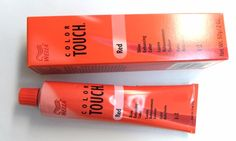 BRAND NEW Wella Color Touch Hair Color discontinued permanent orange box hair   #Wella
