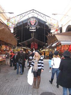 Barcelona  Las Ramblas Open Market