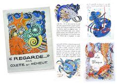 Mathurin Méheut illustrations de ''Regarde''.