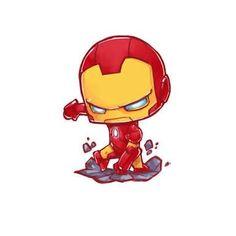 Iron Man by Jr Pencil on ArtStation. Marvel Avengers, Hero Marvel, Chibi Marvel, Marvel Art, Marvel Dc Comics, Captain Marvel, Spiderman Chibi, Deadpool Chibi, Batman Chibi