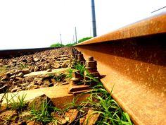 detail over stones rail way Rail Transport, Train Tracks, Public Domain, Transportation, Stones, Iron, Detail, Photos, Rocks