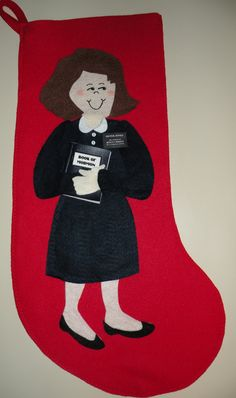 LDS Mormon Missionary Elder or Sister Missionary Christmas Stocking