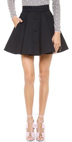 RED Valentino Flare Skirt