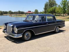 Bid for the chance to own a 1964 Mercedes-Benz Long Wheelbase at auction with Bring a Trailer, the home of the best vintage and classic cars online. Bmw Classic Cars, Classic Cars Online, Aluminum Radiator, Pontiac Firebird, Rally Car, Drag Racing, F1 Racing, Fuel Injection, Maserati