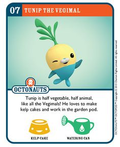 Octonauts trading cards