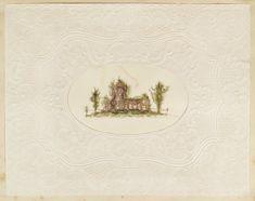 Fine specimen of a 19th-century seaweed album, in which marine algae is rendered…