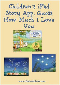The Book Chook: Children's iPad Story App, Guess How Much I Love You