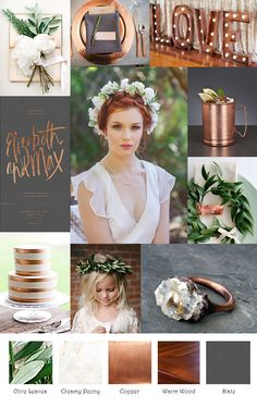 Copper Slate Cream Inspiration Board                                                                                                                                                      More