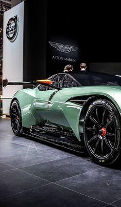 Visit The MACHINE Shop Café... ❤ The Best of Aston Martin... ❤ (Aston Martin Vulcan Concept)