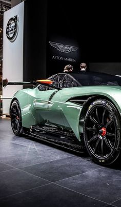 Visit The MACHINE Shop Café... ❤ The Best of Aston Martin... ❤ (Aston Martin Vulcan Concept)