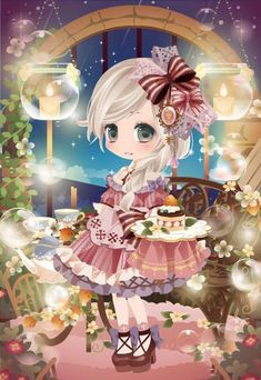 By Artist Unknown. Boys Wallpaper, Kawaii Wallpaper, Cocoppa Play, Samhain, Lolita Dress, Playing Dress Up, Kawaii Anime, Unique Art, Art Reference
