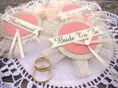Bachelorette Party Pins Bride Badge Bride Pin by TwiningVines
