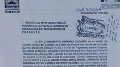 Congreso de Morelos denuncia a dos hombres por portar charolas apócrifas