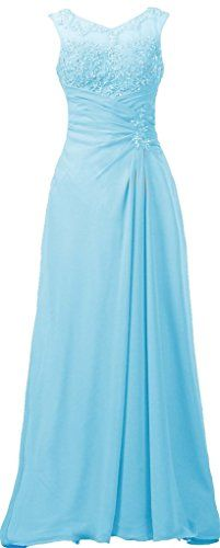 ANTS Women's Appliqued Chiffon Mother of the Bride Evening Dress Long Size 16 US Light Blue ANTS http://www.amazon.com/dp/B00YAE706E/ref=cm_sw_r_pi_dp_2Dq7vb1Y4R2W8