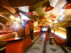 Rock club café - reconstruction Parametric design (rhino + grasshopper)