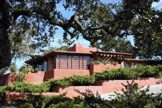 Honeycomb house architecture design by Frank Lloyd Wright