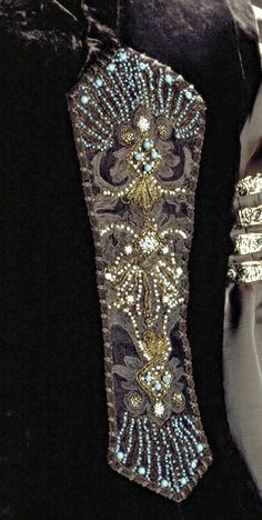 Padme Amidala packing dress from Star Wars Episode II. Front detail.