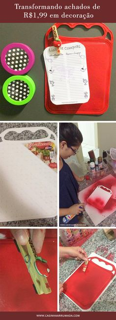 Decoração criativa e barata: Transformando achados de R$1,99 em decoração! Ideias simples e baratas para decorar a casa! (via casinhaarrumada.com)