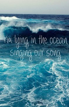 Singing to the rhythm of the waves