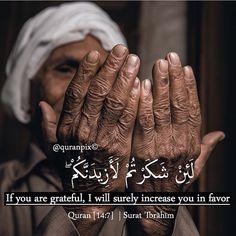 #Gratitude #Quran  #Surat