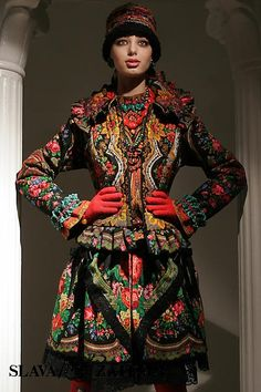 Russian Style. Designer - Slava Zaitsev.