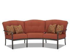 Klaussner Outdoor International Outdoor/Patio Riviera Sofa W6004 S - Klaussner Outdoor - Asheboro, NC