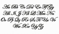 Etsy Transaction - Edwardian Script Machine Embroidery Font Monogram Alphabet - 3 Sizes