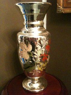 Antique Mercury Glass | ... the Belle Époque: Object of the Day: Antique Mercury Glass Vase