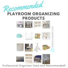 Utilize the space you have to organize your kids toys and play area with products recommended by professional organizers. Playroom organization is here! #playroom #organizedplayroom #playroomorganization #toyorganization #toystorage #organizedtoys #baskets #bins #toyroom #organizedtoyroom #storagesolutions #getorganized #howtoorganize #howtoorganizeaplayroom #howtoorganizetoys #toystoystoys #solution #professionalorganizer Playroom Organization, Organized Playroom, Becoming Minimalist, Domestic Appliances, The Home Edit, Playroom Design, Toy Rooms, Easy Home Decor, Organizing Your Home
