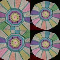 """PART 1 & 2 [a different variation (of color)]♡ Carousel Blanket CAL  2016 (Sept. 13 - Nov. 15) - Created By Sue Pinner - Free Crochet Pattern - In US & UK Terms, and also in German and Dutch. PATTERN Available on Stylecraft Yarn's CAL Page. You may use the Designer's colors or your own. ***Make sure to join the Facebook Group """"Official Stylecraft Sue Pinner CAL"""" (link on the Ravelry page also) for help, ideas, support, so much more!! ... it's a great Group with wonderful people!!!"""