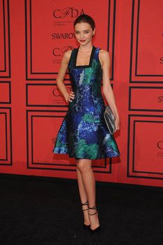 Miranda Kerr at CFDA Awards 2013