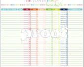Finanzas Personales Lista de verificación para imprimir