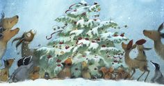 """""""Sharing Christmas"""" – written by Kate Westerlund, illustrated by Eve Tharlet"""