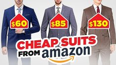 Style Expert Reacts To CHEAP (But HIGHLY Rated!)AmazonSuits Real Men Real Style, Real Man, Fashion Spring, Men's Fashion, Men's Suits, The Man, How To Look Better, Personal Style, Amazon