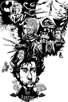 Inside Tim Burton's head