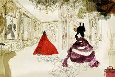 Daniel Egnéus è un illustratore nato in Svezia e cresciuto in tutto il mondo. Abbiamo di fronte il classico esempio di artista girovago molto bohemien e molto ispirato