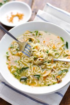 Quick Homemade Ramen | 27 Delicious And Hearty Soups With No Meat