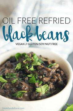 Easy vegan oil free