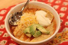 The Larson Lingo: Chicken Tortilla Soup In a crockpot