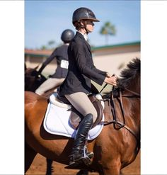 """""""It doesn't matter how good you are, it matters if you have the passion."""" Who agrees? The Styled Equestrian wearing her Mountain Horse USA Sovereign Field Boots. Available in black or brown, Sovereign Field Boots offer a custom look at a fraction of the price.  #ItsAMountainHorseKindOfDay #MountainHorseUSA"""
