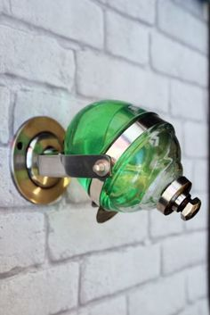 Retro Style Wall Mounted Liquid Soap Dispenser from Rockett st George #home #design #products