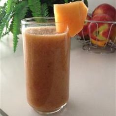 Mango-Peach Smoothie Allrecipes.com
