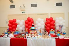 """Photo 67 of 71: Circus/Carnival / Birthday """"Valentina's 1st Birthday Circus"""" 