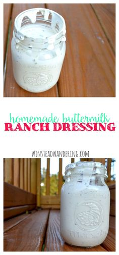Don't settle for the gloopy bottled stuff. Homemade buttermilk ranch dressing is fresher and lighter, and it's the perfect condiment for almost anything.