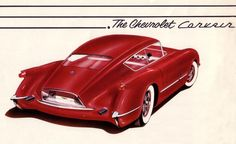 Corvette Corvair. The concept that almost was. Click on the image to read more.