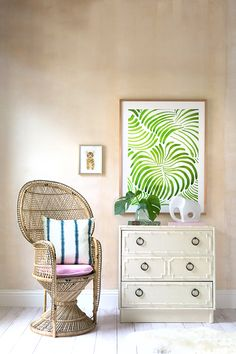 Baby's First Nursery Idea: A Gender Neutral Tropical Jungle