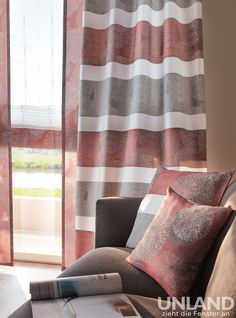 Unland Dorin - Vorhang, Fensterideen, Gardinen und Sonnenschutz - curtains, contract fabrics, pleated blinds, roller blinds and more. Made in Germany 02