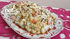 Yoğurtlu Karnabahar Brokoli Salatası - Nefis Yemek Tarifleri - Elizan Quiche, Cauliflower, Macaroni And Cheese, Eggs, Chicken, Meat, Vegetables, Breakfast, Ethnic Recipes