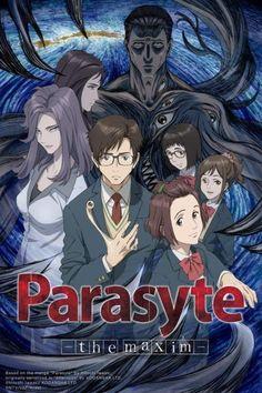 Parasyte: The Maxim - Horror Anime TV Series Anime Manga, Anime Guys, Anime Art, Live Action, Parasyte The Maxim, Poster Anime, Horror, Aya Hirano, Animes On