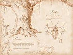 Nemetons and Fireflies Spread